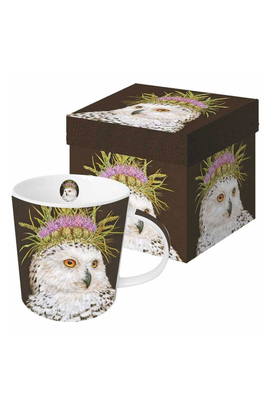 ppd Owl Mug Boxed - Front Cropped Image
