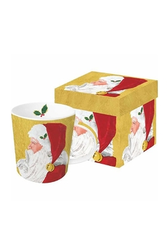Shoptiques Product: Santa Boxed Mug