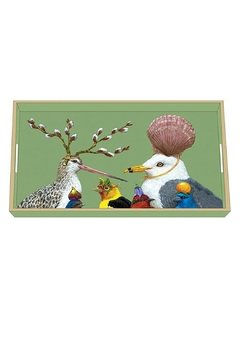 Shoptiques Product: Seagull Lacquer Tray