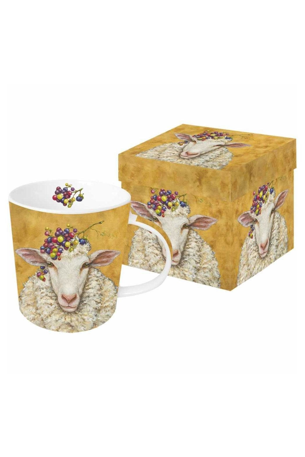 ppd Sheep Mug Boxed - Front Cropped Image