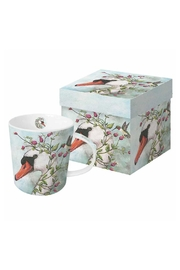 ppd Swan Boxed Mug - Front cropped