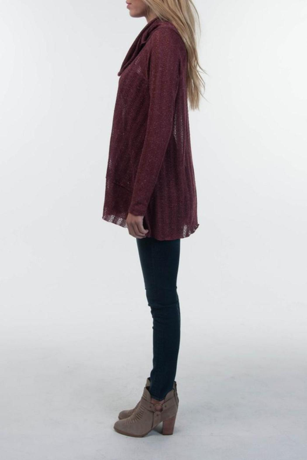 PPLA Broadway Cowlneck Sweater - Front Full Image