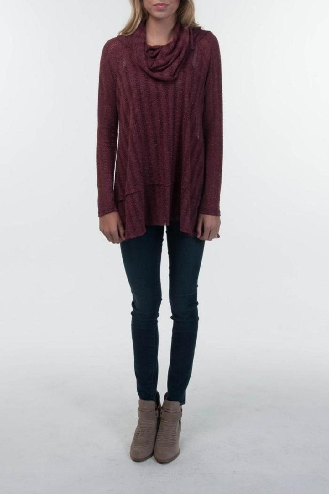 PPLA Broadway Cowlneck Sweater - Main Image