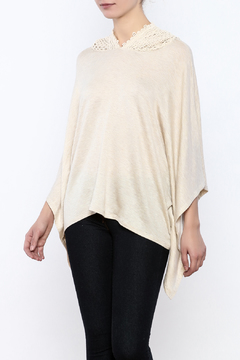 Shoptiques Product: Lace Hooded Poncho