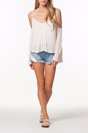 PPLA Cold Shoulder Top - Front cropped