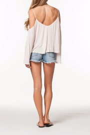 PPLA Cold Shoulder Top - Front full body