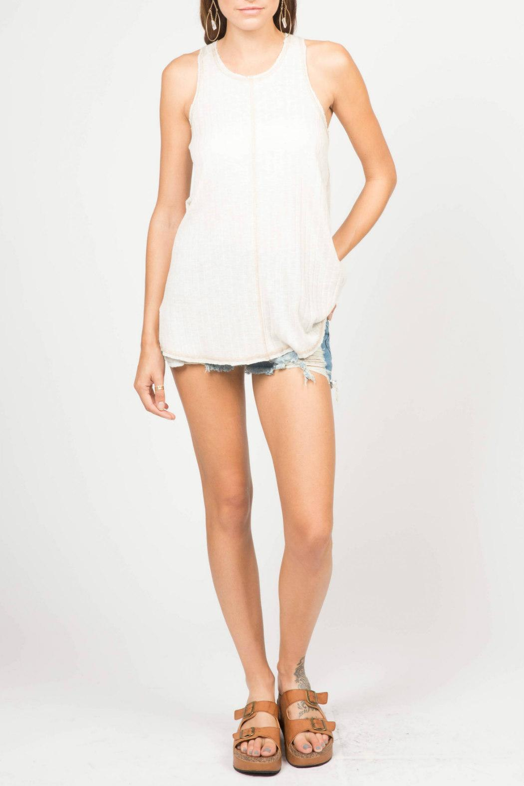 Ppla lea swing tank from statesboro by sole shoptiques for Lea boutique