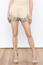 PPLA Lined Beaded Shorts - Product Mini Image
