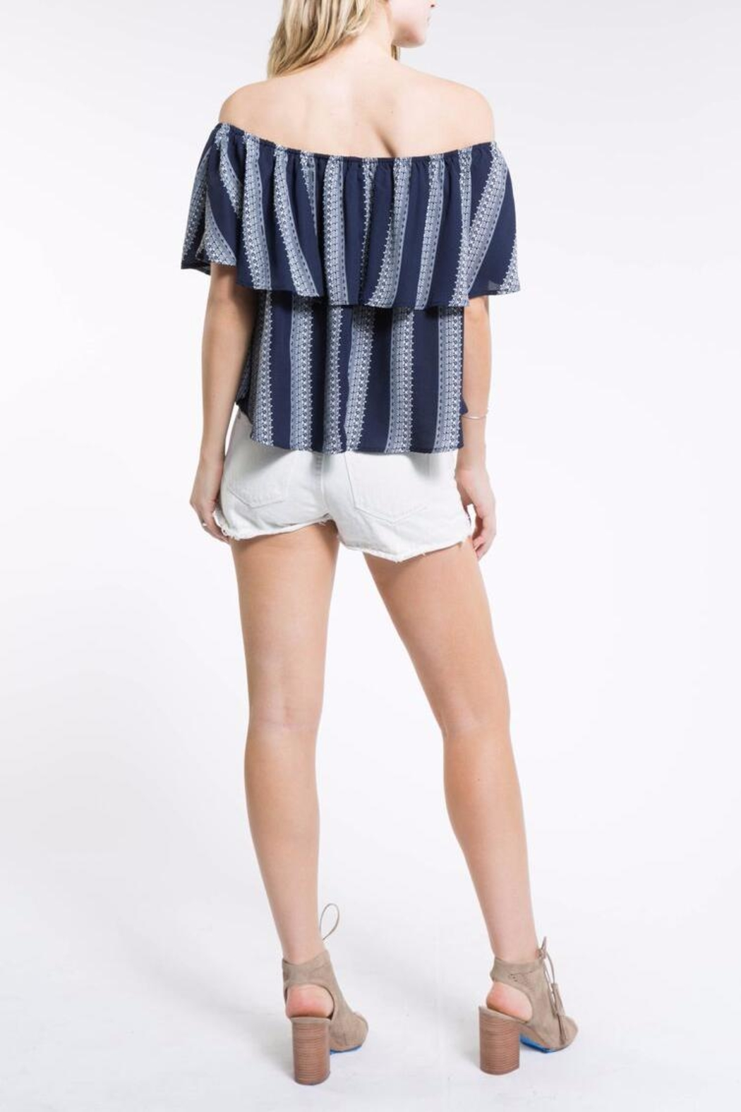 PPLA Off Shoulder Top - Front Full Image