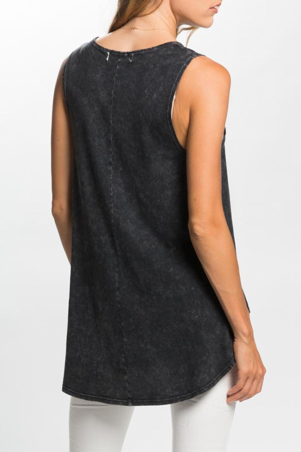 PPLA Graphic Tunic Top - Front Full Image