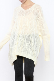 PPLA Oversized Cable-Knit Sweater - Product Mini Image