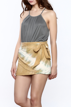 Shoptiques Product: Grey Sleeveless Top