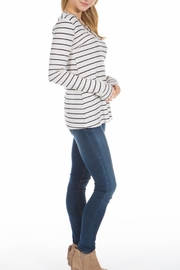 PPLA Clothing Cal Striped Knit Top - Side cropped