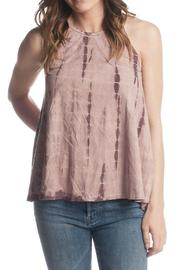 PPLA Clothing Faux Suede Tank - Product Mini Image