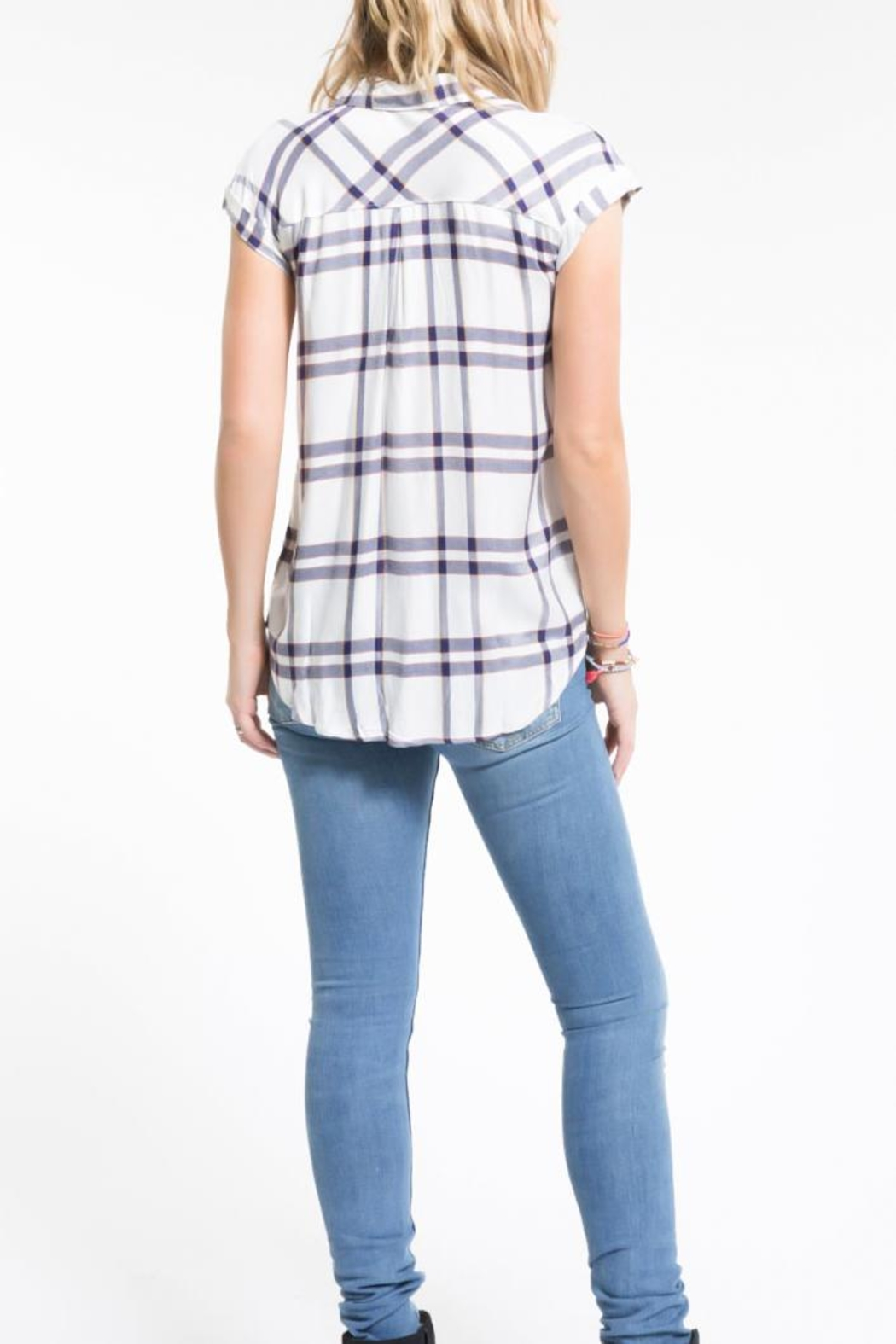 PPLA Clothing Flint Button Down Top - Front Full Image
