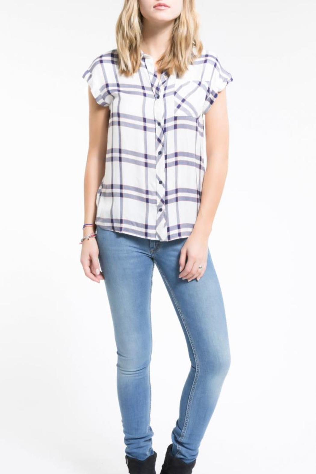 PPLA Clothing Flint Button Down Top - Main Image