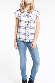 PPLA Clothing Flint Button Down Top - Front cropped