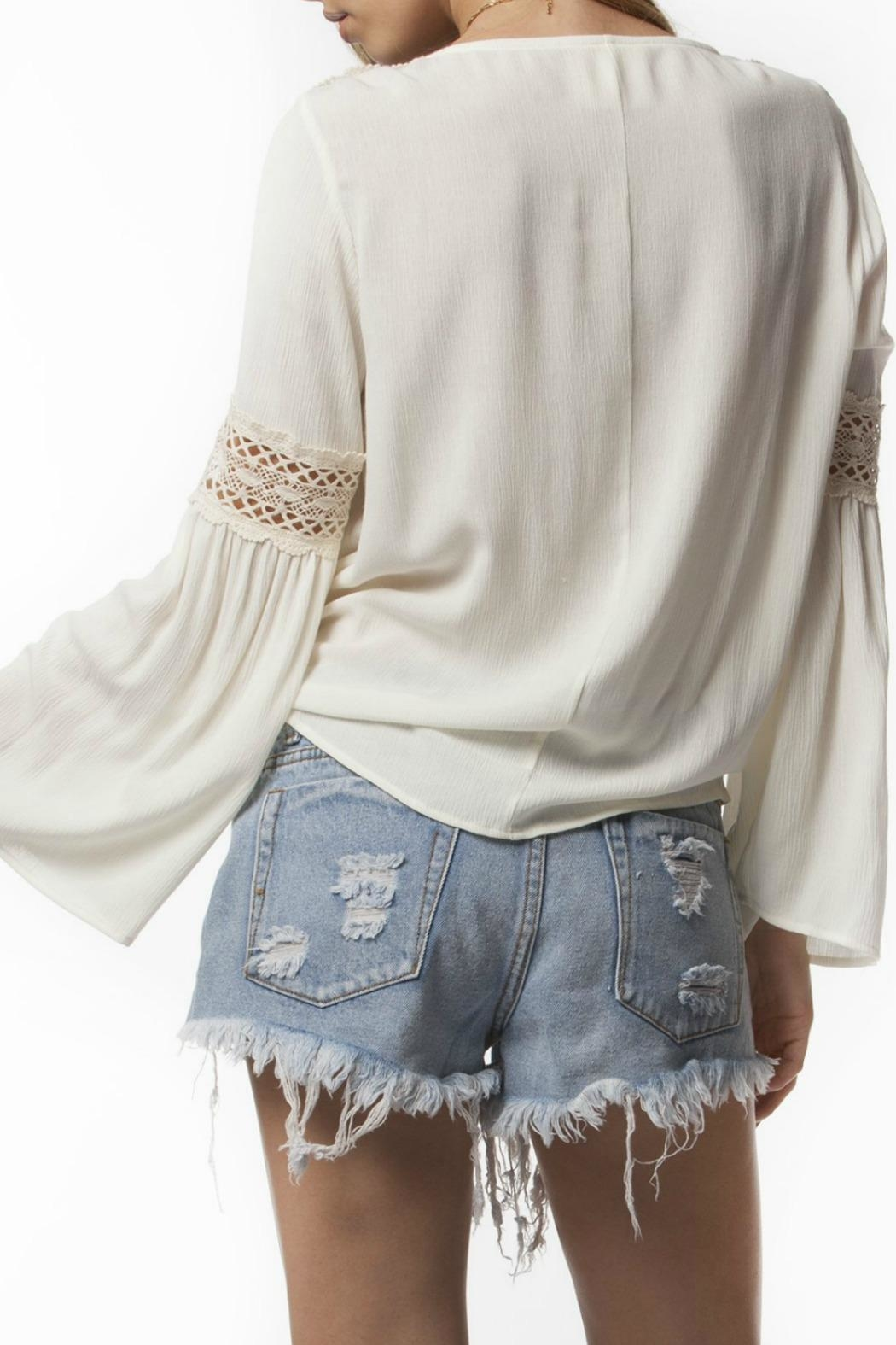 PPLA Clothing Jaclyn Top - Side Cropped Image