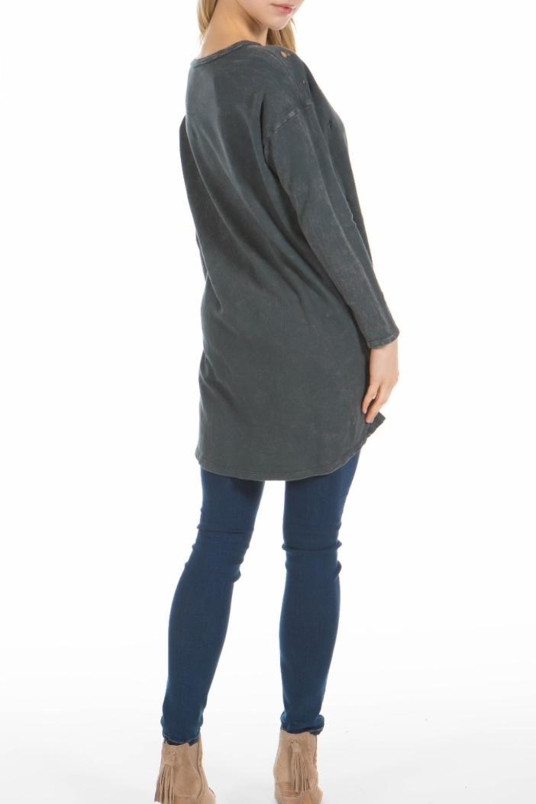 PPLA Clothing Jagger Top - Front Full Image