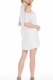 PPLA Clothing Ophelia Cold Shoulder Dress - Front full body