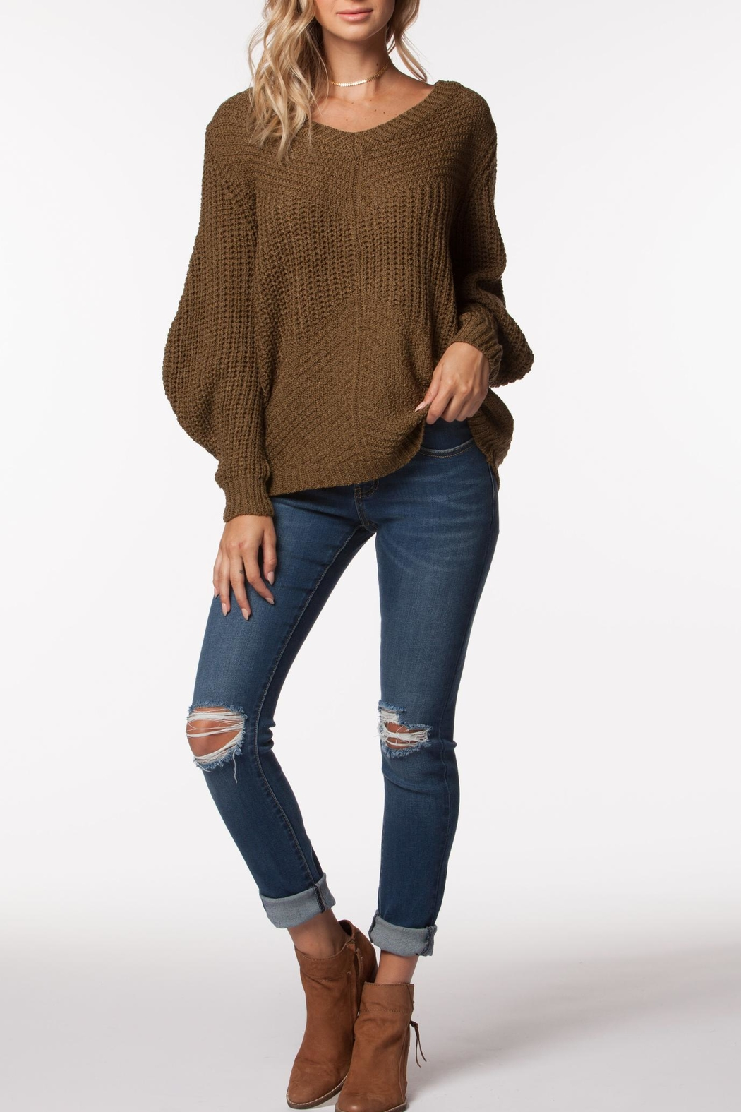 PPLA Clothing Tavern Sweater - Front Cropped Image