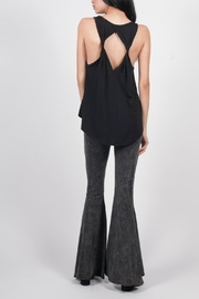 PPLA Clothing Twisted Back Tank Top - Front full body