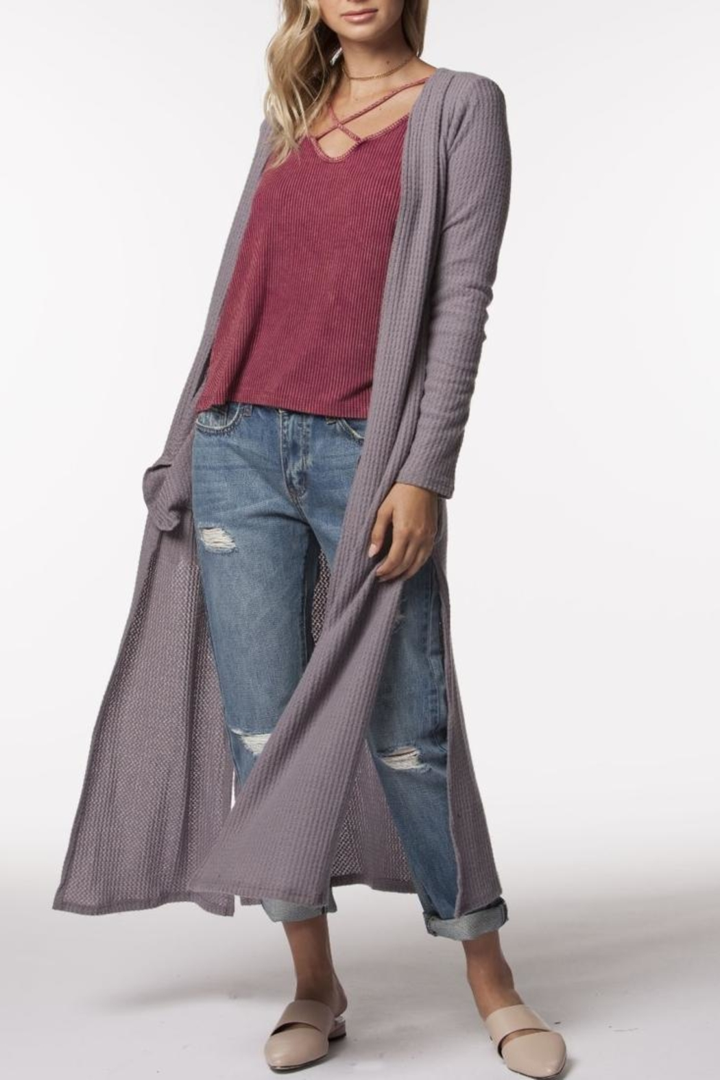 PPLA Clothing Zaria Duster - Main Image