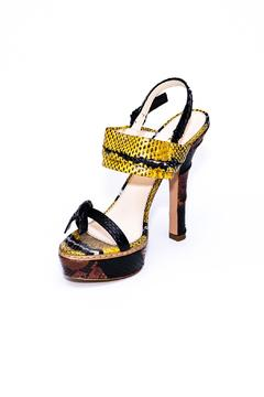 Shoptiques Product: Yellow Platform Heels