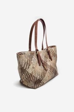 Pragai Couture Weave Expandable Tote - Alternate List Image
