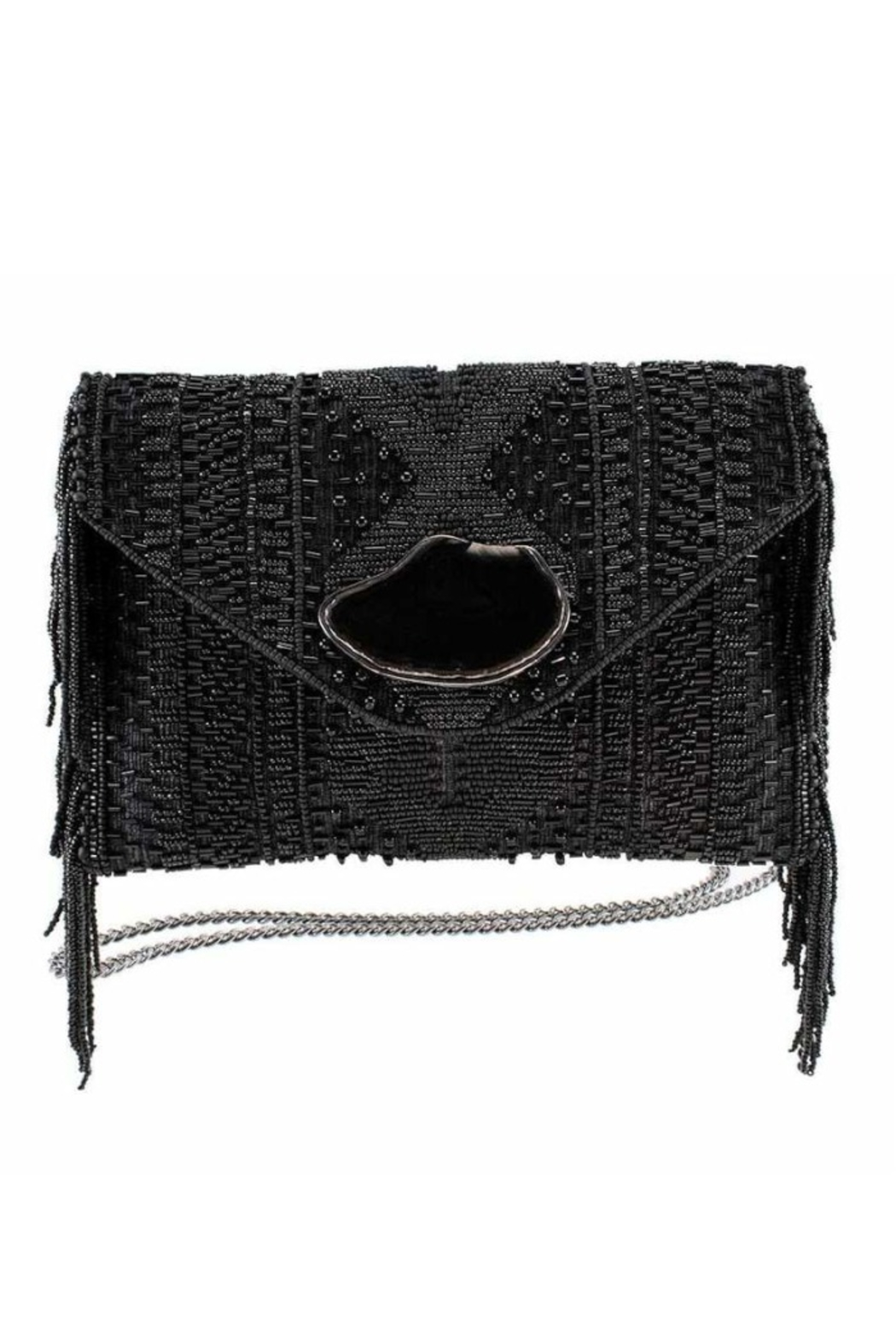 Mary Frances Prairie Black Bag - Front Cropped Image