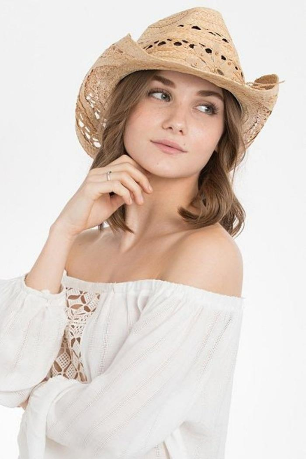Peter Grimm Prairie Bloom Hat - Front Cropped Image