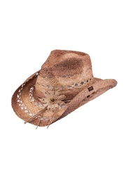 Peter Grimm Prairie Bloom Hat - Front cropped