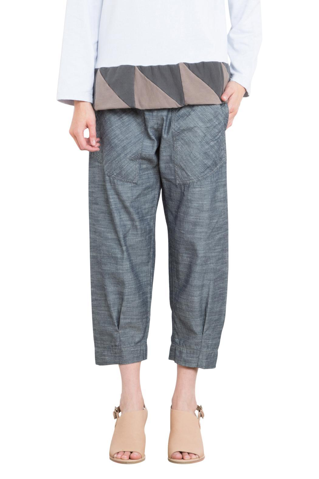 Prairie Underground Chambray Cropped Jogger - Main Image