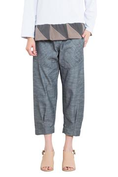 Prairie Underground Chambray Cropped Jogger - Product List Image