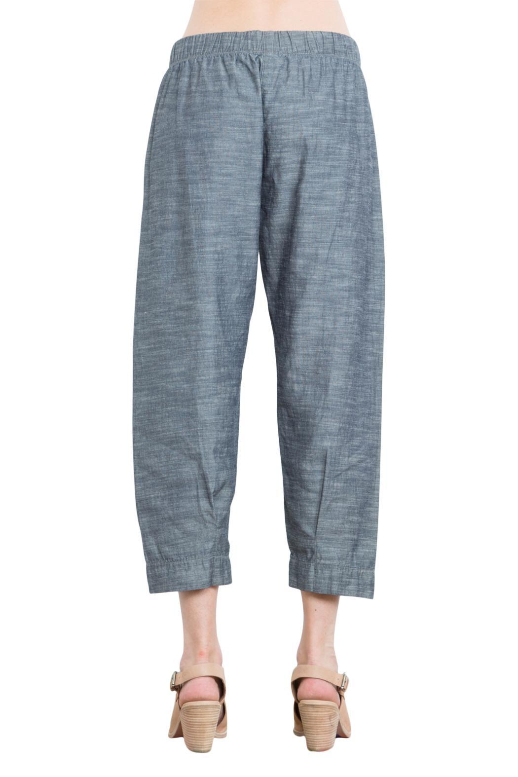 Prairie Underground Chambray Cropped Jogger - Side Cropped Image