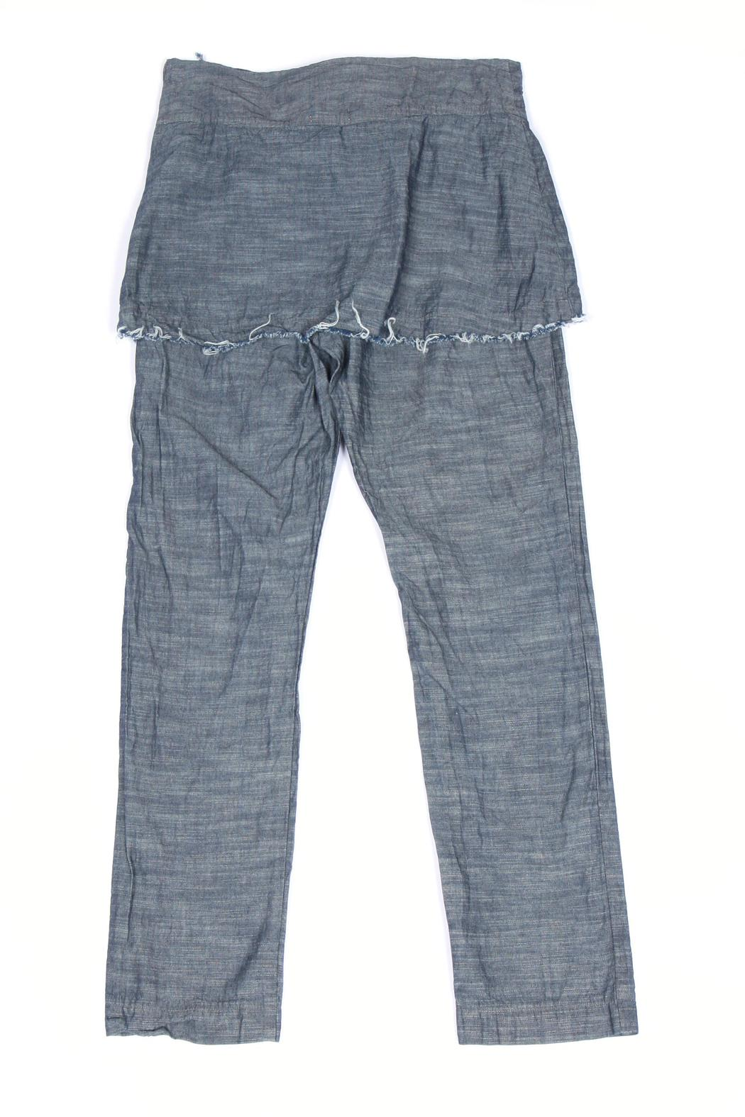 Prairie Underground Chambray Underwing Pants - Front Full Image