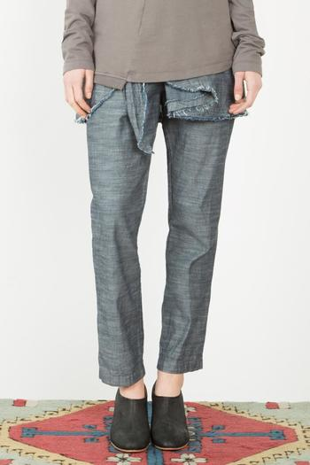 Shoptiques Product: Chambray Underwing Pants - main