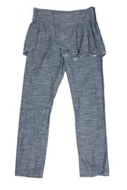 Shoptiques Product: Chambray Underwing Pants - Front cropped