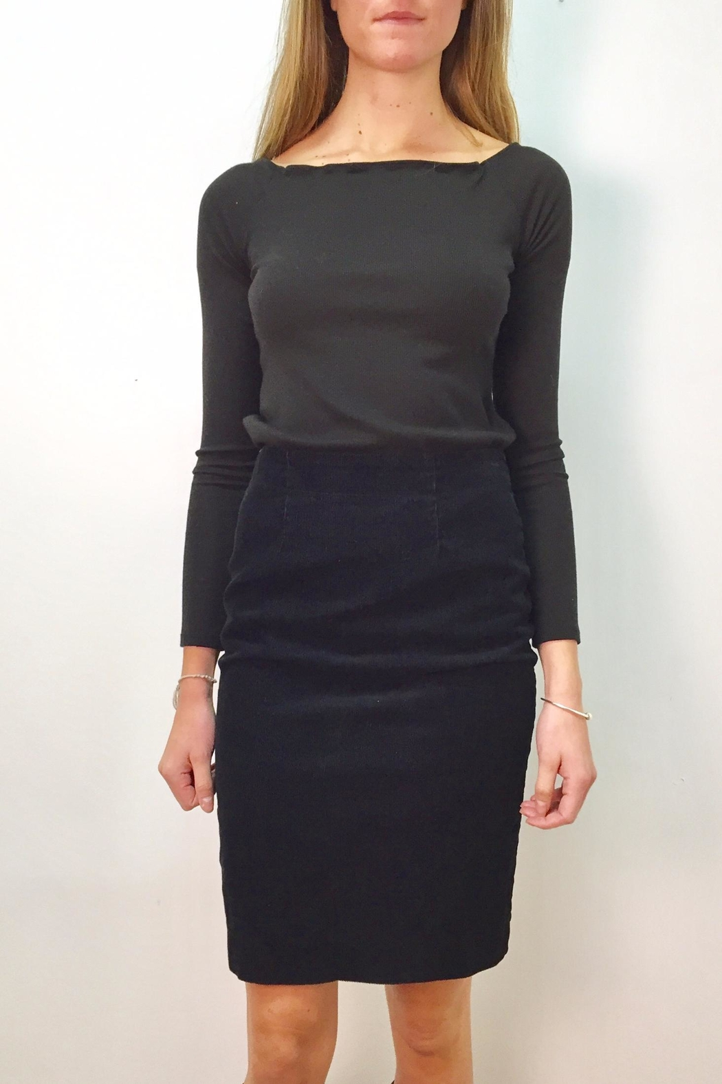 Prairie Underground Corduroy Pencil Skirt - Front Cropped Image