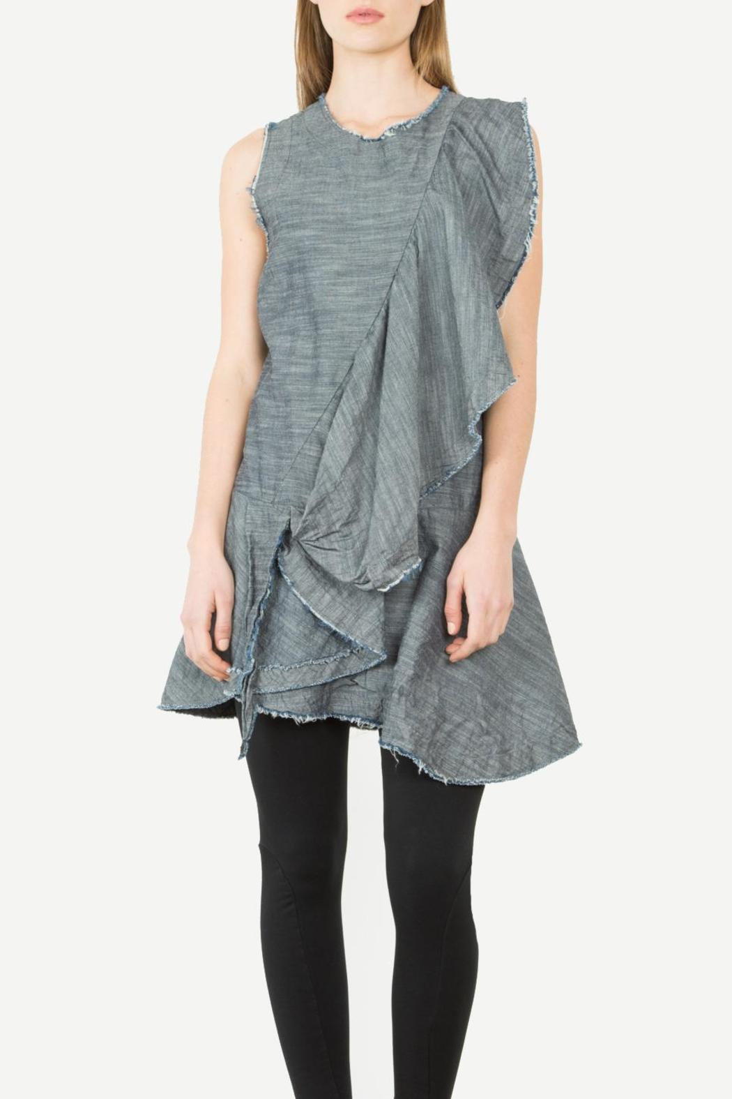 Prairie Underground Crackwillow Tunic Dress - Front Cropped Image