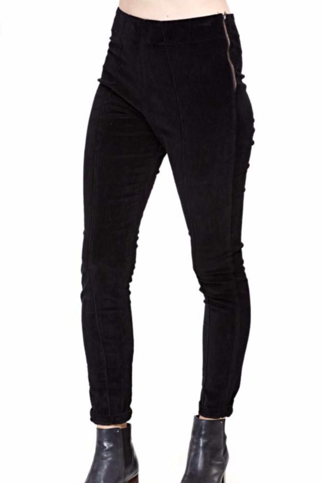 Prairie Underground Pu Slim Cords Pants - Front Cropped Image