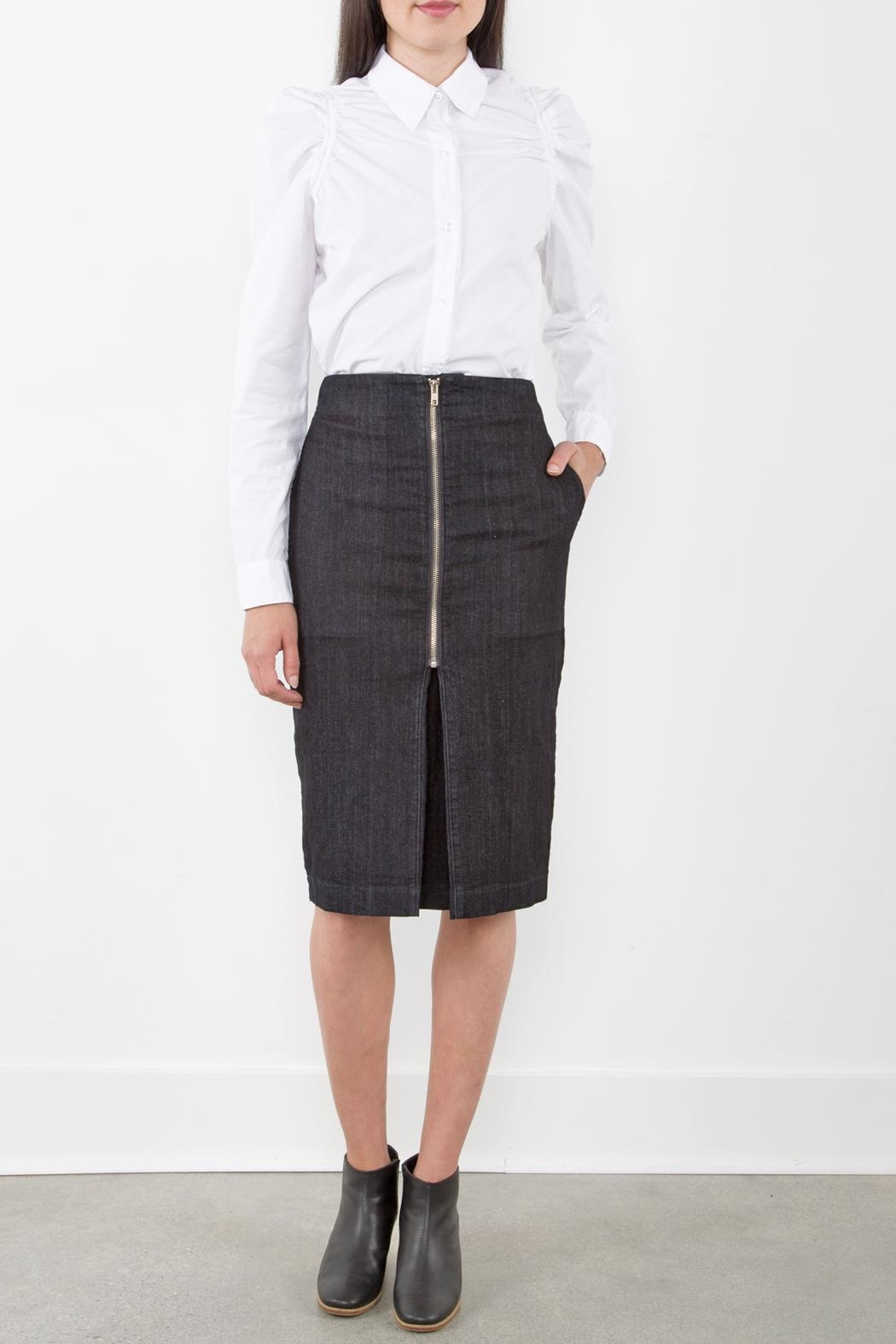 Prairie Underground Zip Pleat Skirt - Main Image
