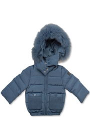 PRAMIE Pramie Down Filled Jacket with Detachable Fur Trim Hood for Boys | Winterwear Clothes (6-14 years) - Product Mini Image