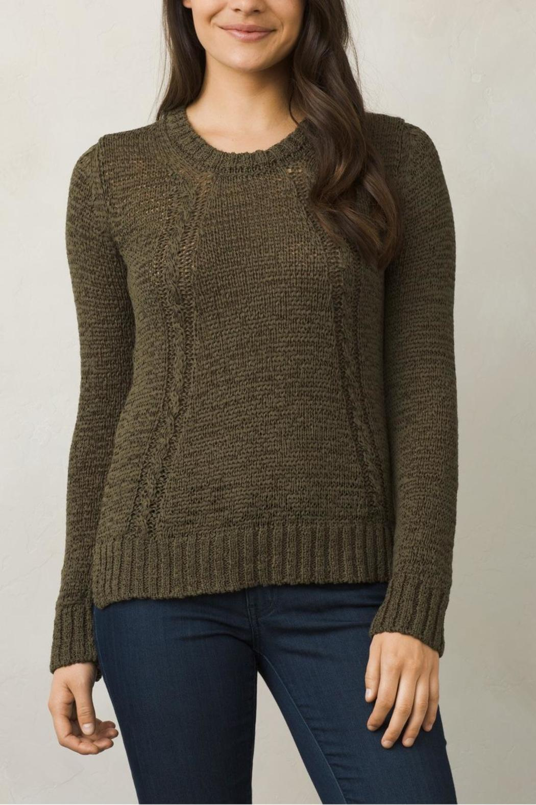 Prana Longsleeve Sweater - Front Cropped Image