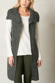 Prana Gray Short Sleeve Cardigan - Product Mini Image