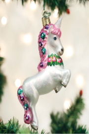 Old World Christmas Prancing Unicorn - Product Mini Image