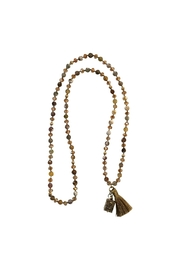 Roman Prayer Box Necklace - Front cropped