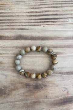 Kindred Mercantile Precious Stone Beaded Bracelet - Alternate List Image