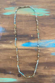 Kindred Mercantile  Precious Stone Beaded Necklace - Front cropped