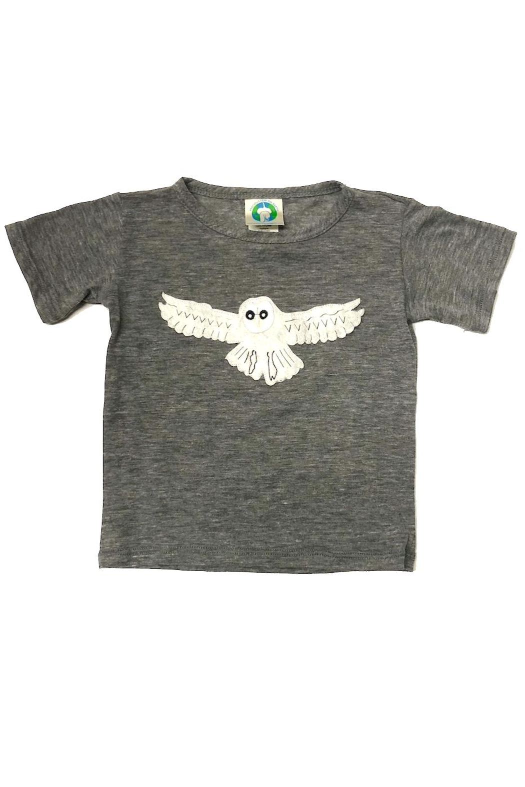 Precious Few on Earth Gray Owl T-Shirt - Main Image
